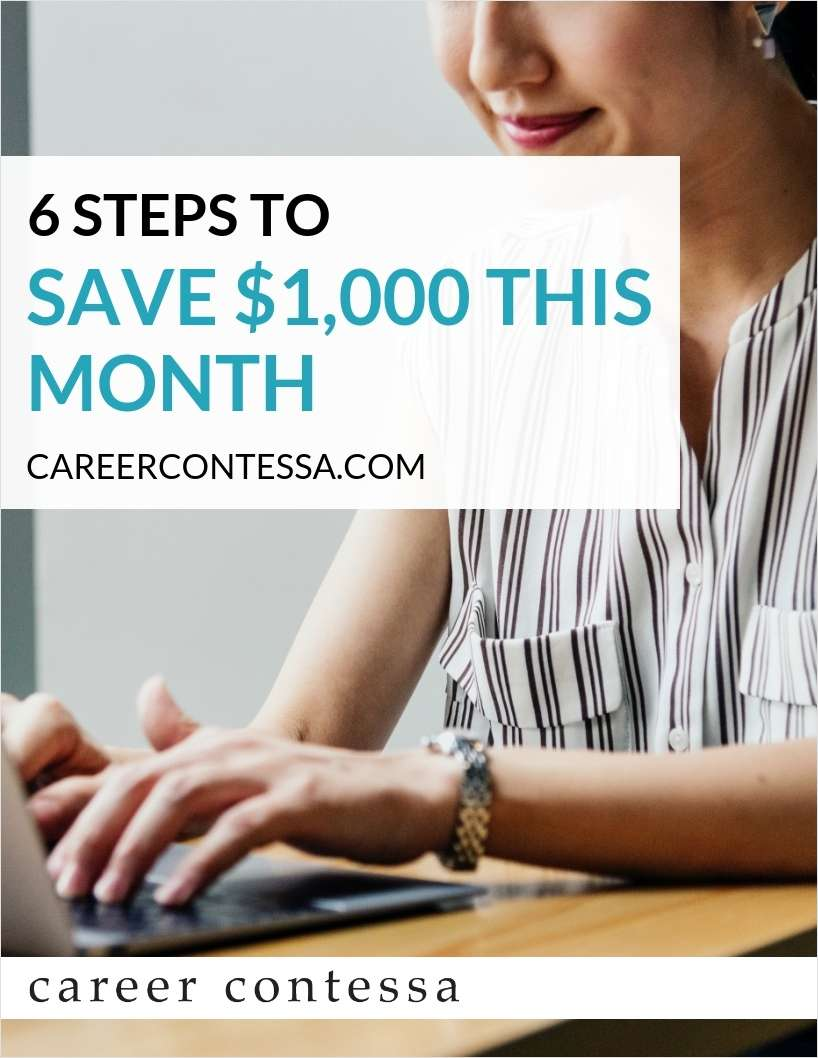 6 Steps to Save $1,000 this Month
