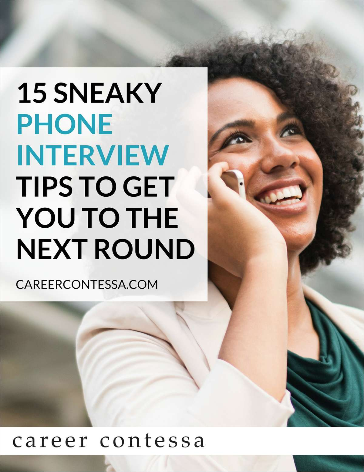 15 Sneaky Phone Interview Tips to Get You to the Next Round