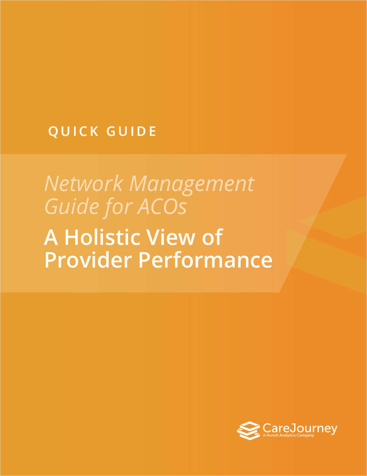 Network Management Guide for ACOs
