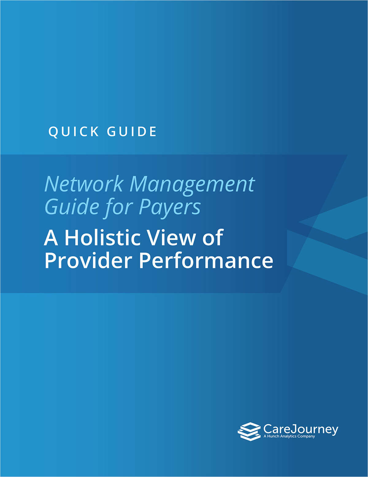 Network Management Guide for Payers