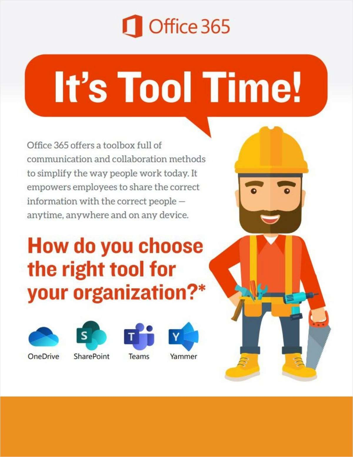 Office 365 Tool Time