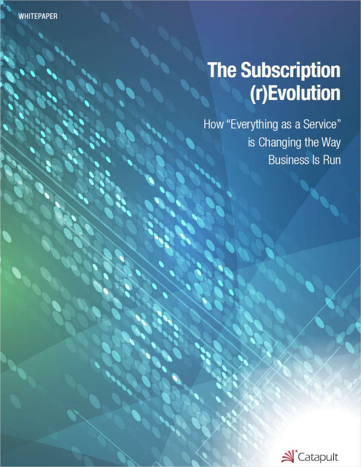 The Subscription Revolution