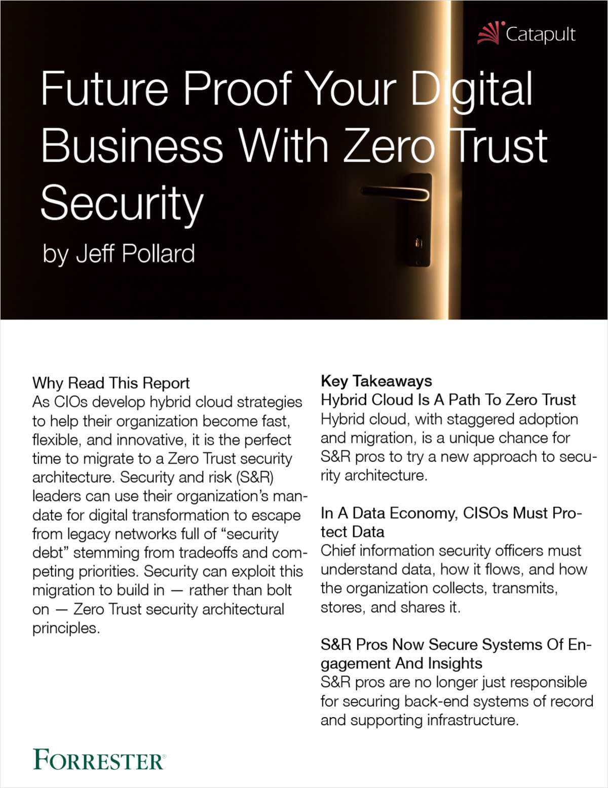 Future Proof Your Digital Business with Zero Trust Security
