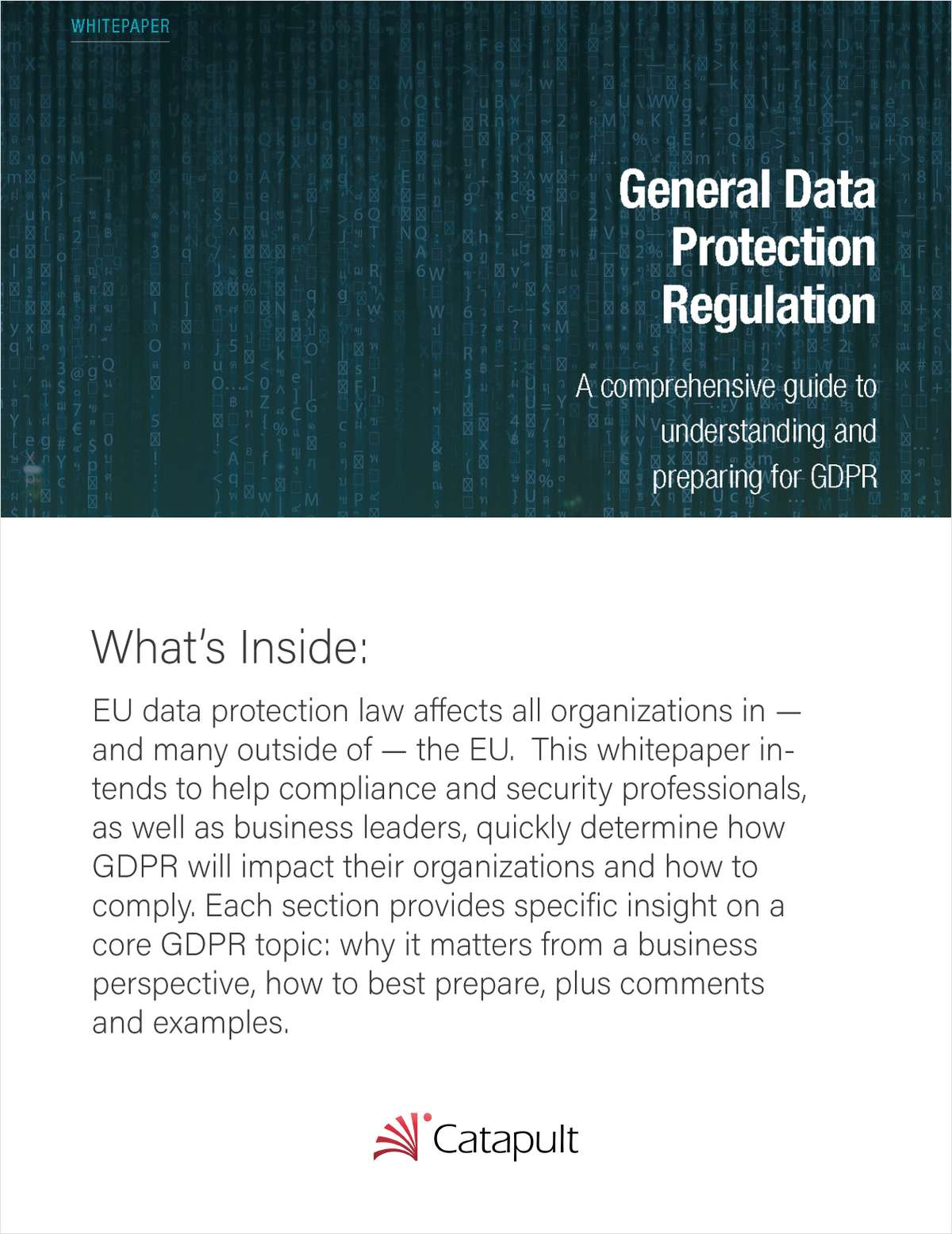 A Comprehensive Guide to GDPR