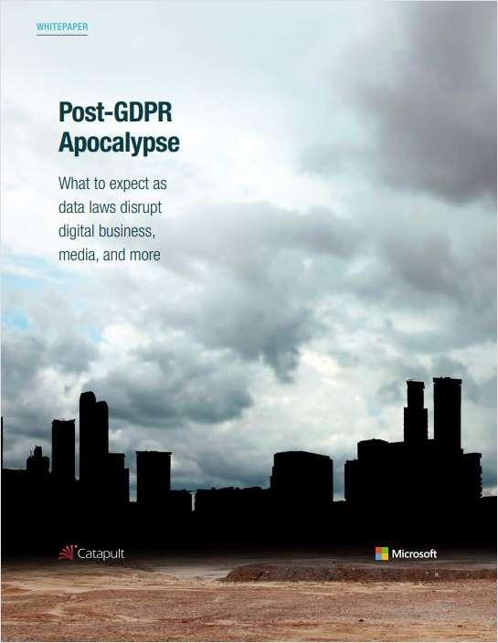 Post-GDPR Apocalypse