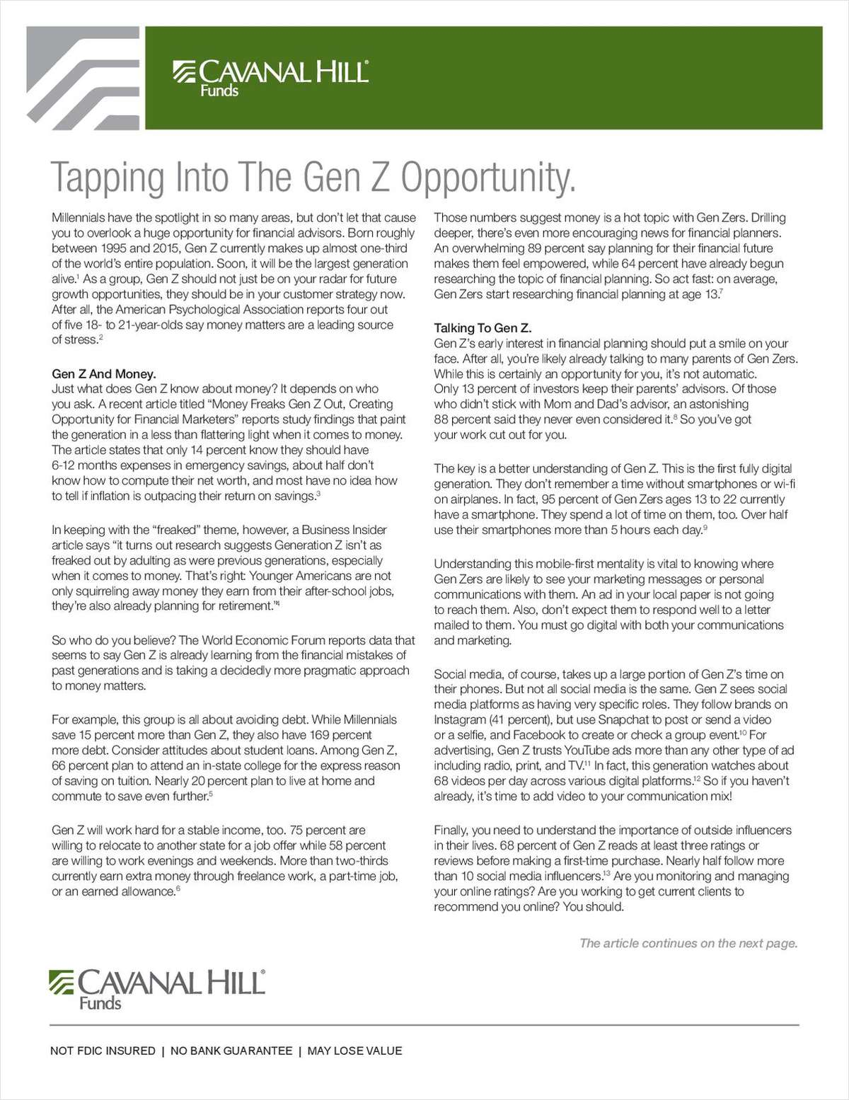 Tapping Into The Gen Z Opportunity