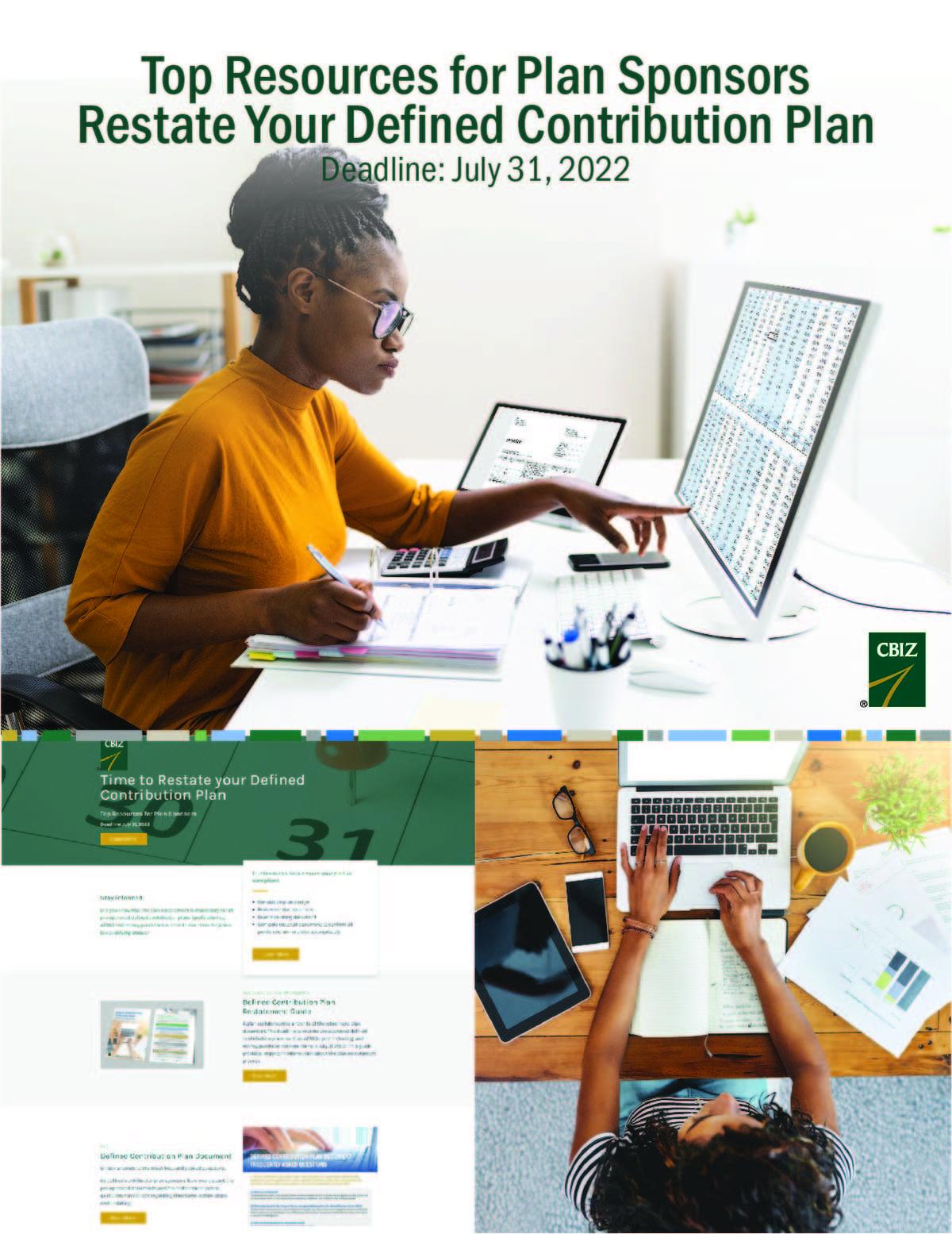 Defined Contribution Plan Restatement Resources
