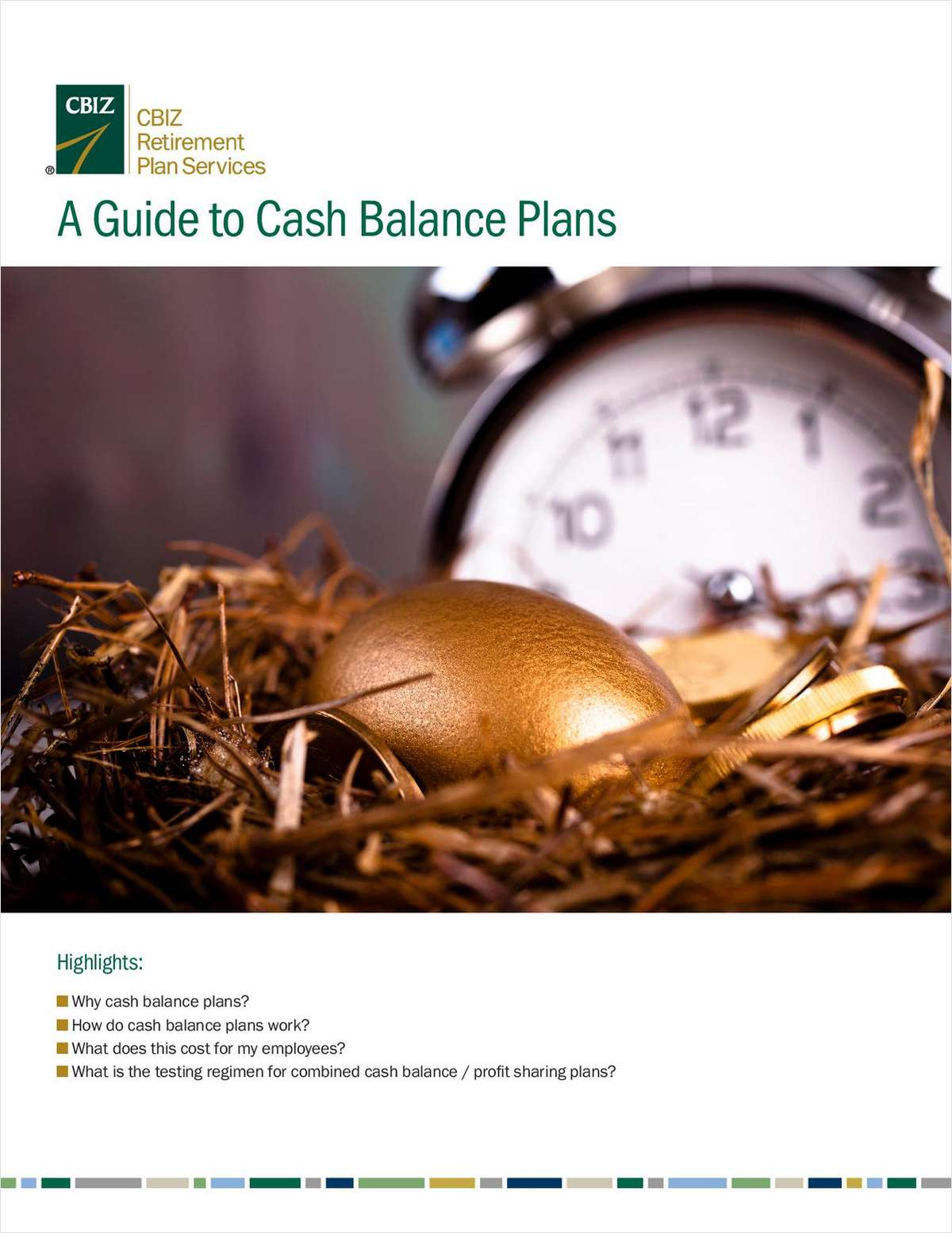 2019 Cash Balance Plan Guide