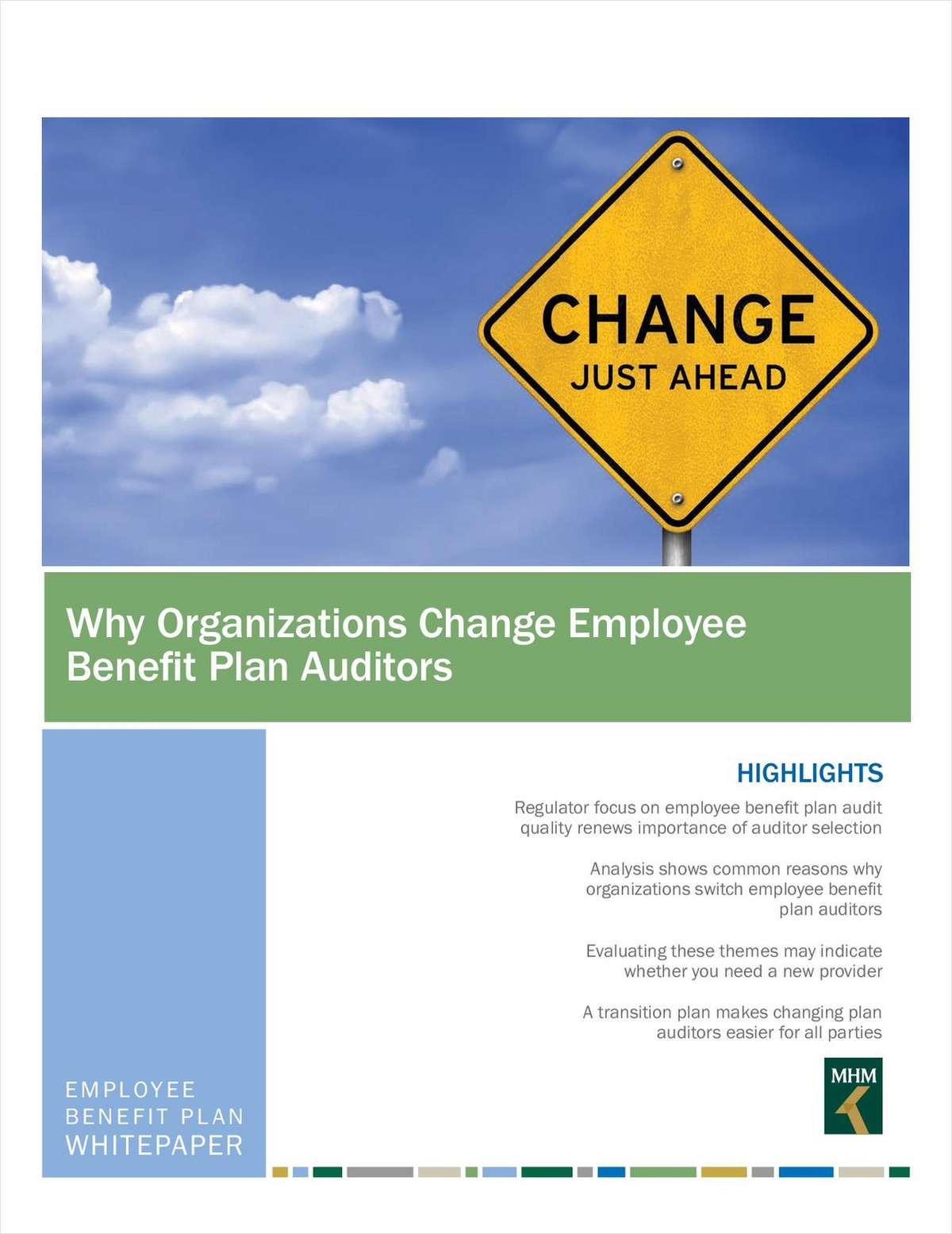 Why Organizations Change Employee Benefit Plan Auditors