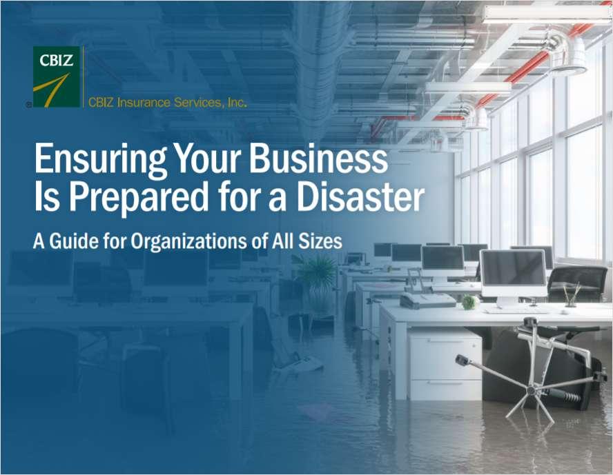 Fall 2019 Disaster Preparedness Guide