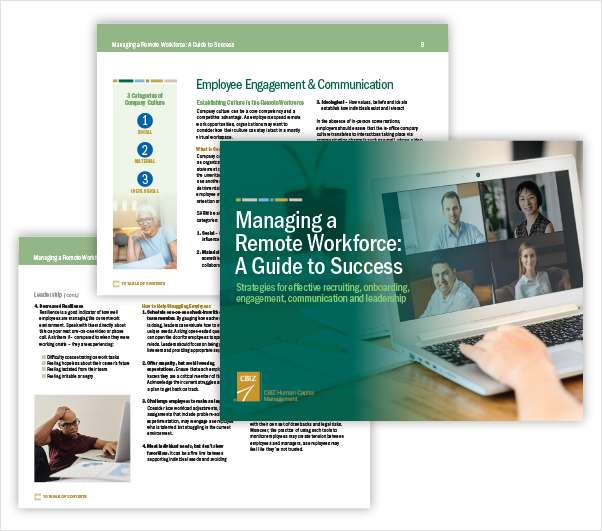 Guide For Success: Managing a Remote Workforce