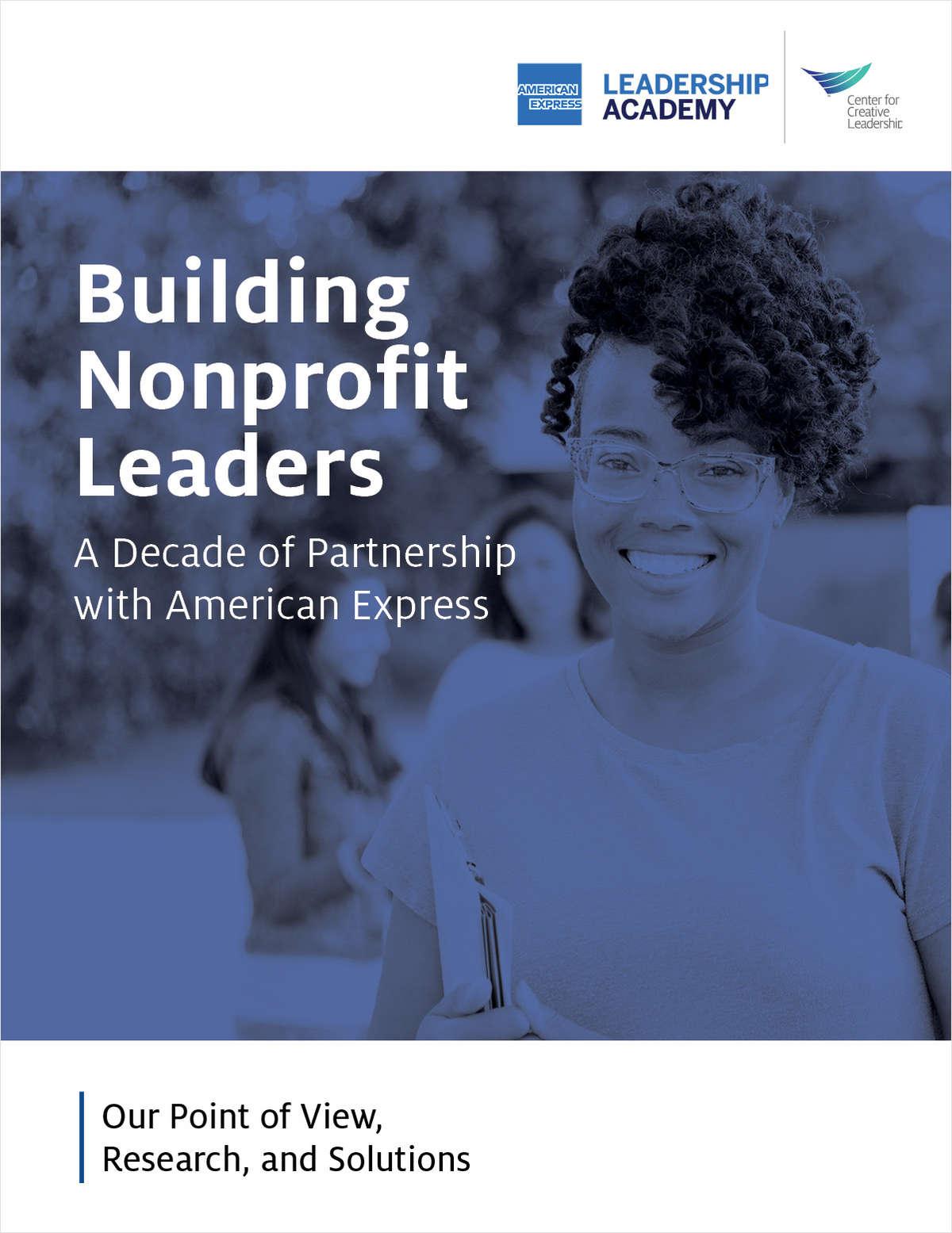 Building Nonprofit Leaders