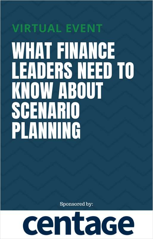 What Finance Leaders Need to Know about Scenario Planning