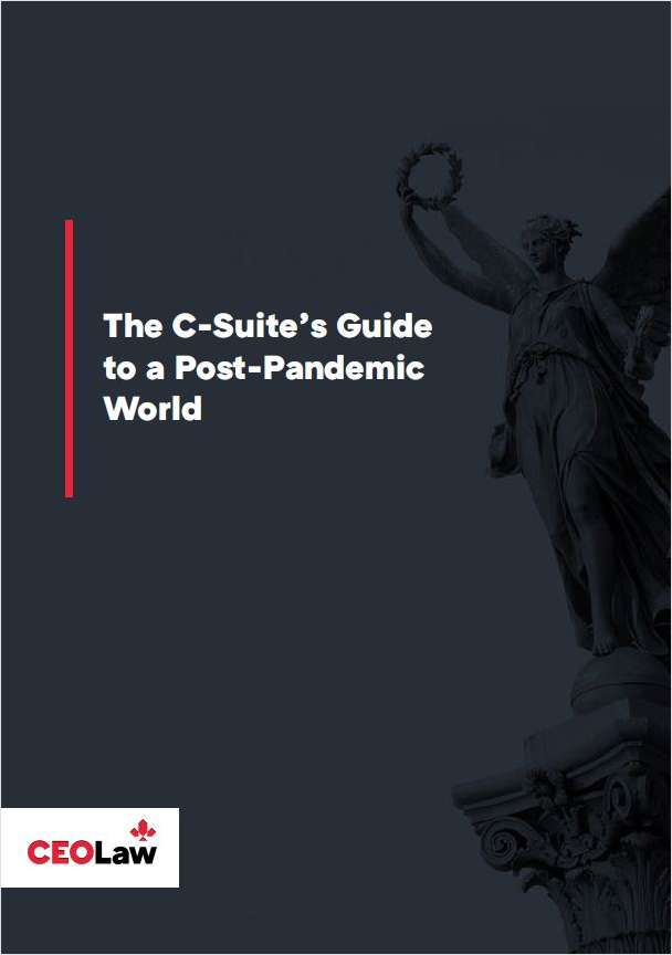 The C-Suite's Guide to a Post-Pandemic World