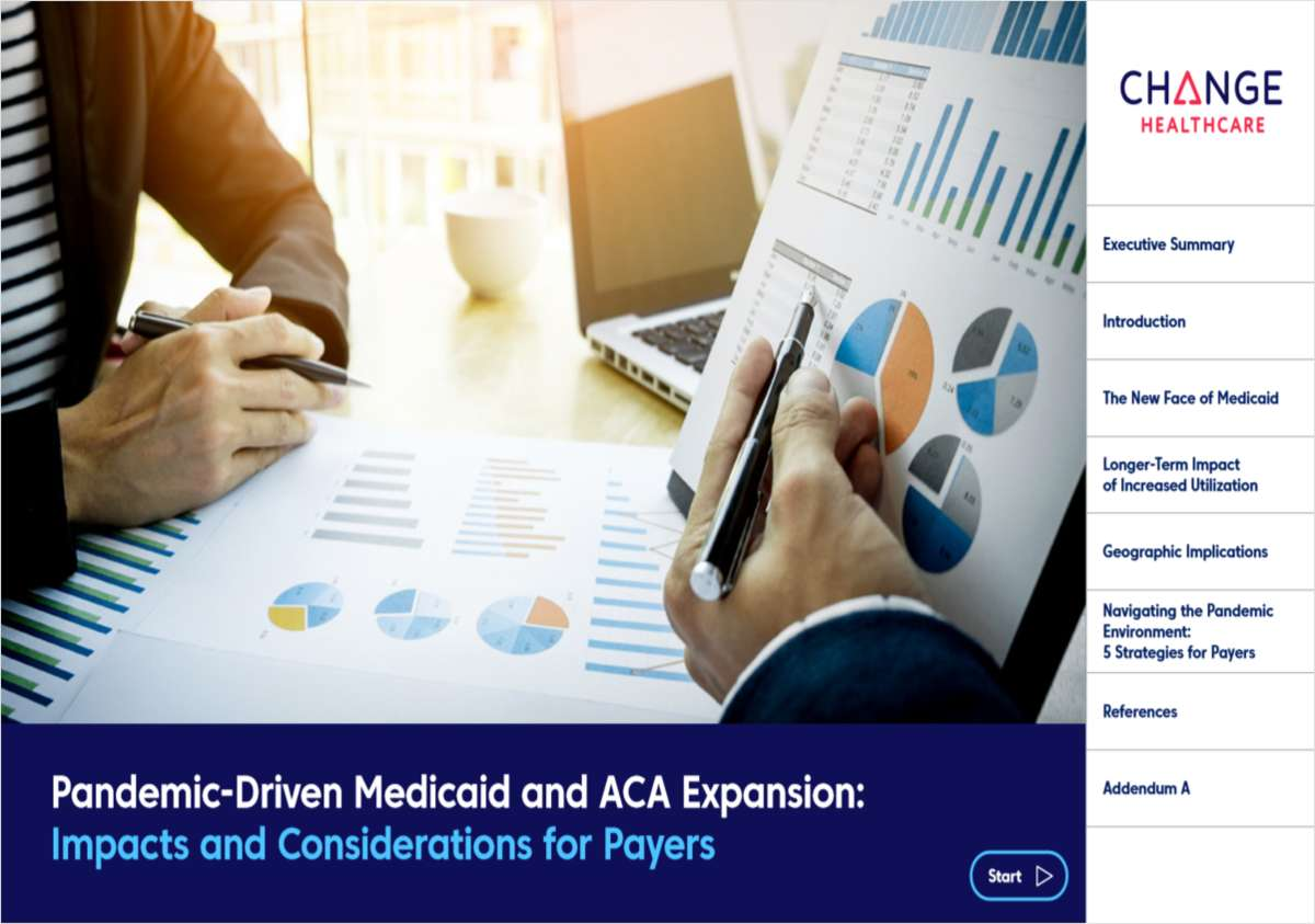 Pandemic-Driven Medicaid and ACA Expansion: Impacts and Considerations for Payers