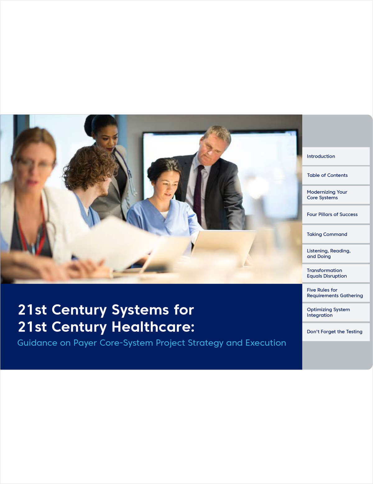 Modernizing Core Payer Systems: Four Pillars of Success