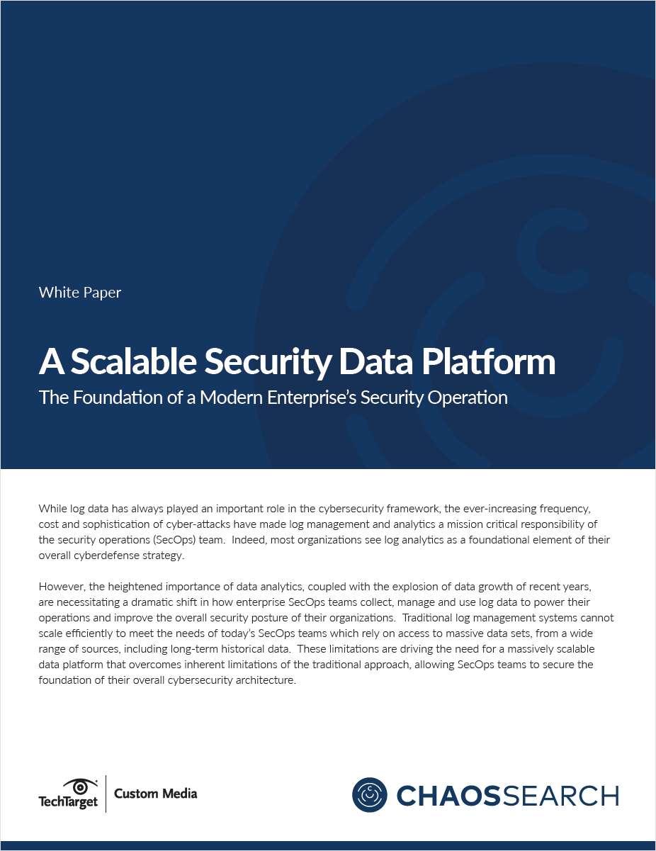A Scalable Data Security Platform