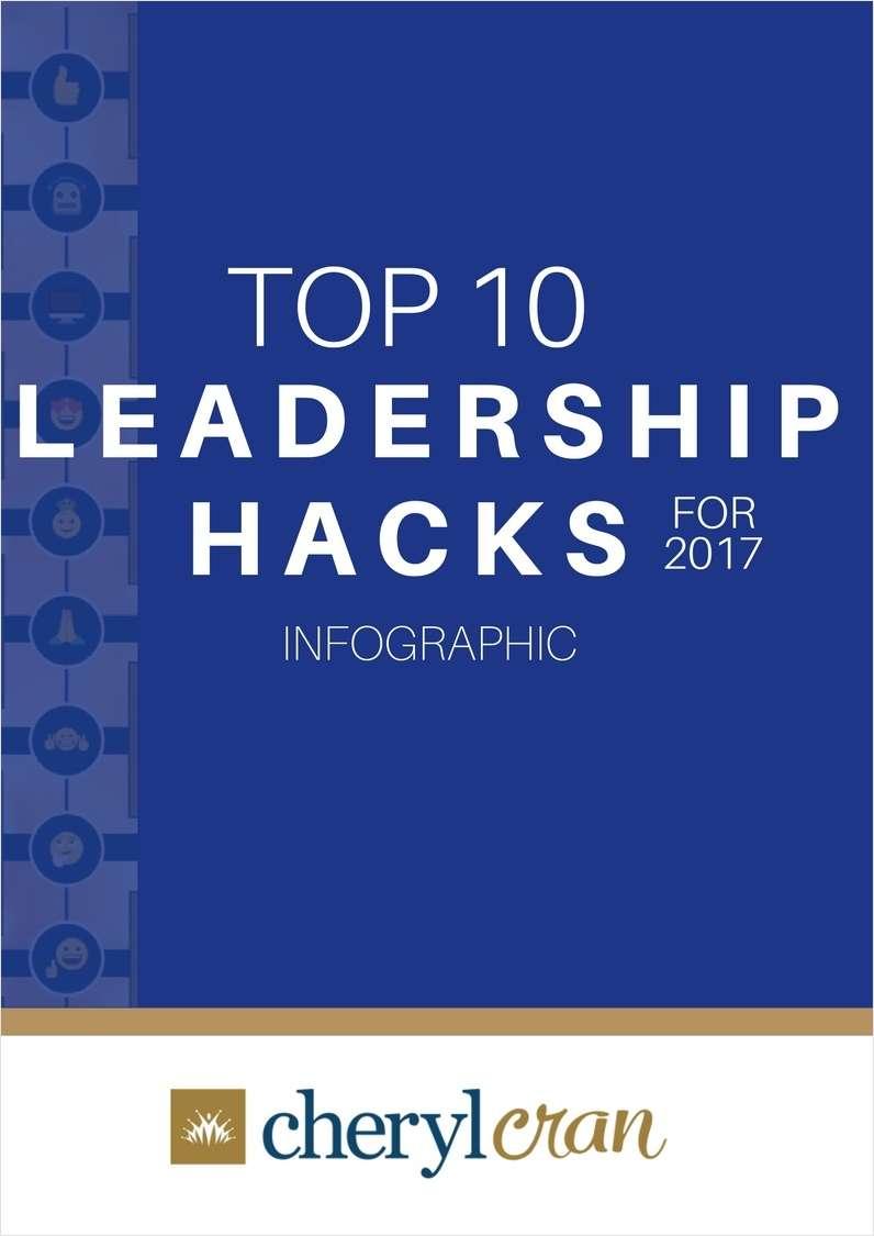 Top 10 Leadership Hacks for 2017