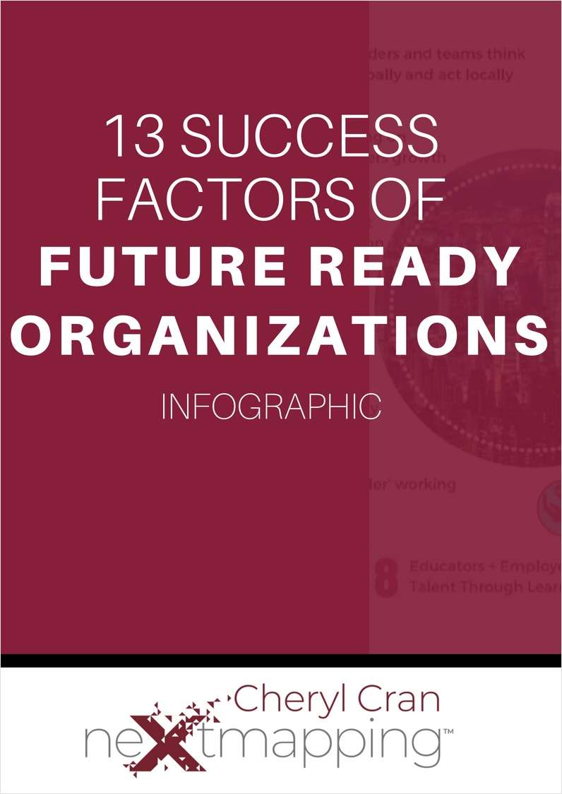 13 Success Factors of Future Ready Organizations