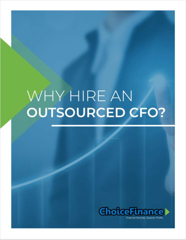 WHY HIRE AN OUTSOURCED CFO?