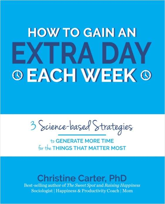 How To Gain an Extra Day Each Week
