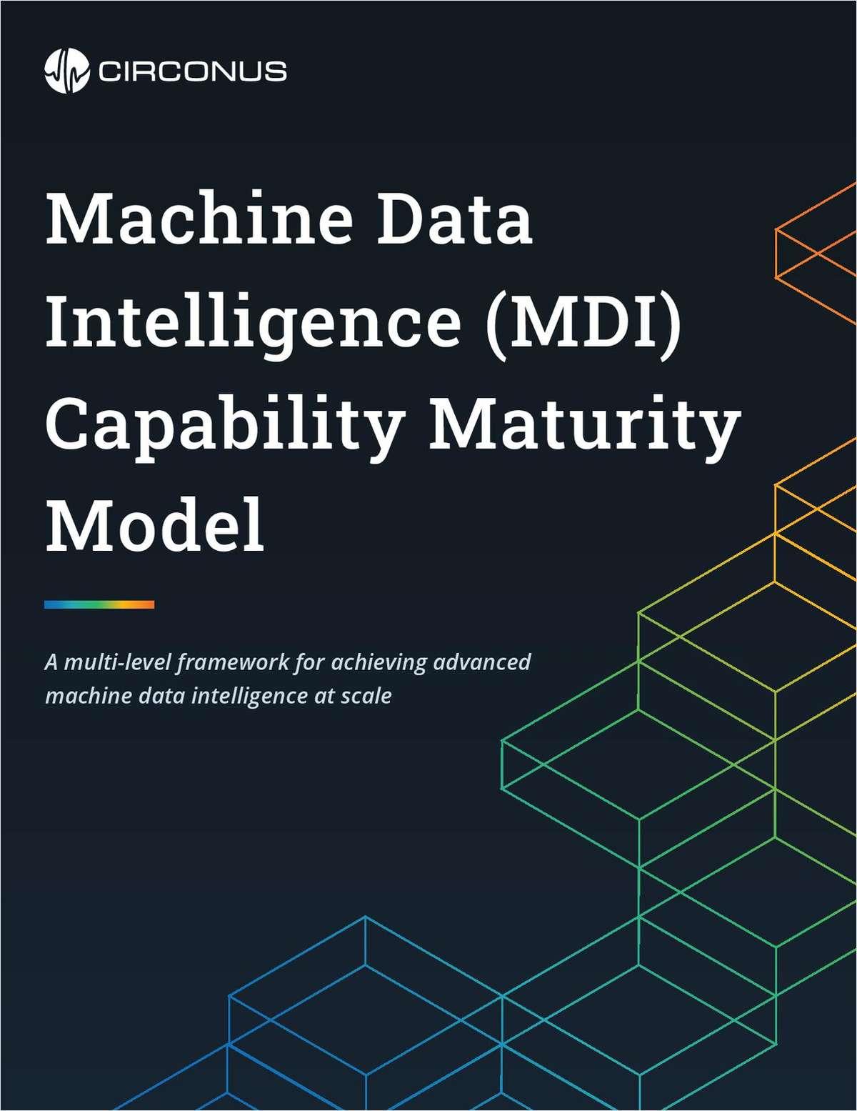 Machine Data Intelligence Capability Maturity Model
