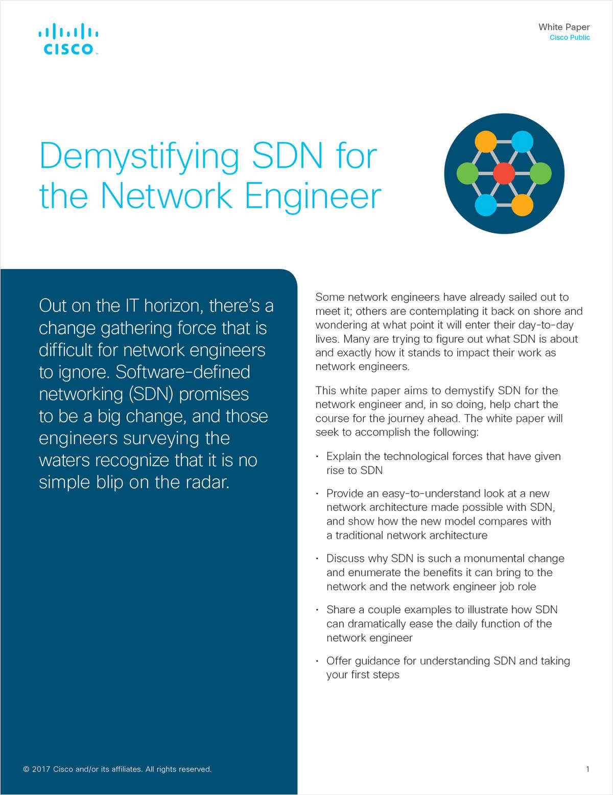 Demystifying SDN for the Network Engineer