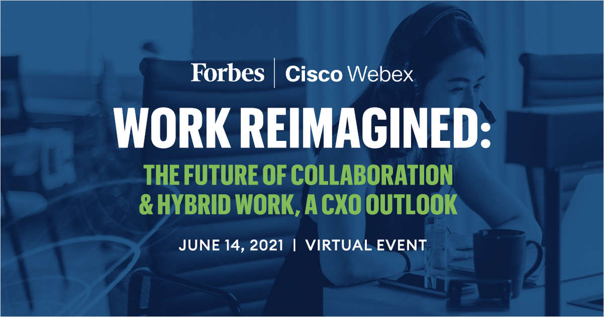 Work Reimagined: The Future of Collaboration & Hybrid Work, A CxO Outlook