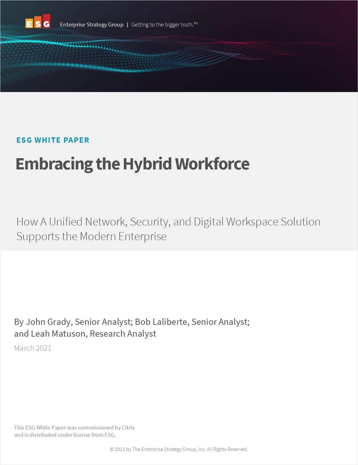 ESG Whitepaper: Embracing the Hybrid Workforce