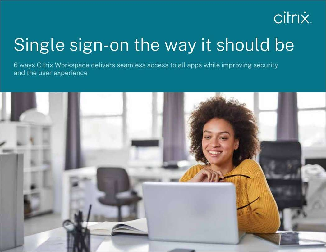 Single Sign-on the Way it Should Be