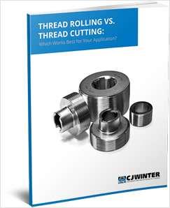 Thread Rolling v. Thread Cutting