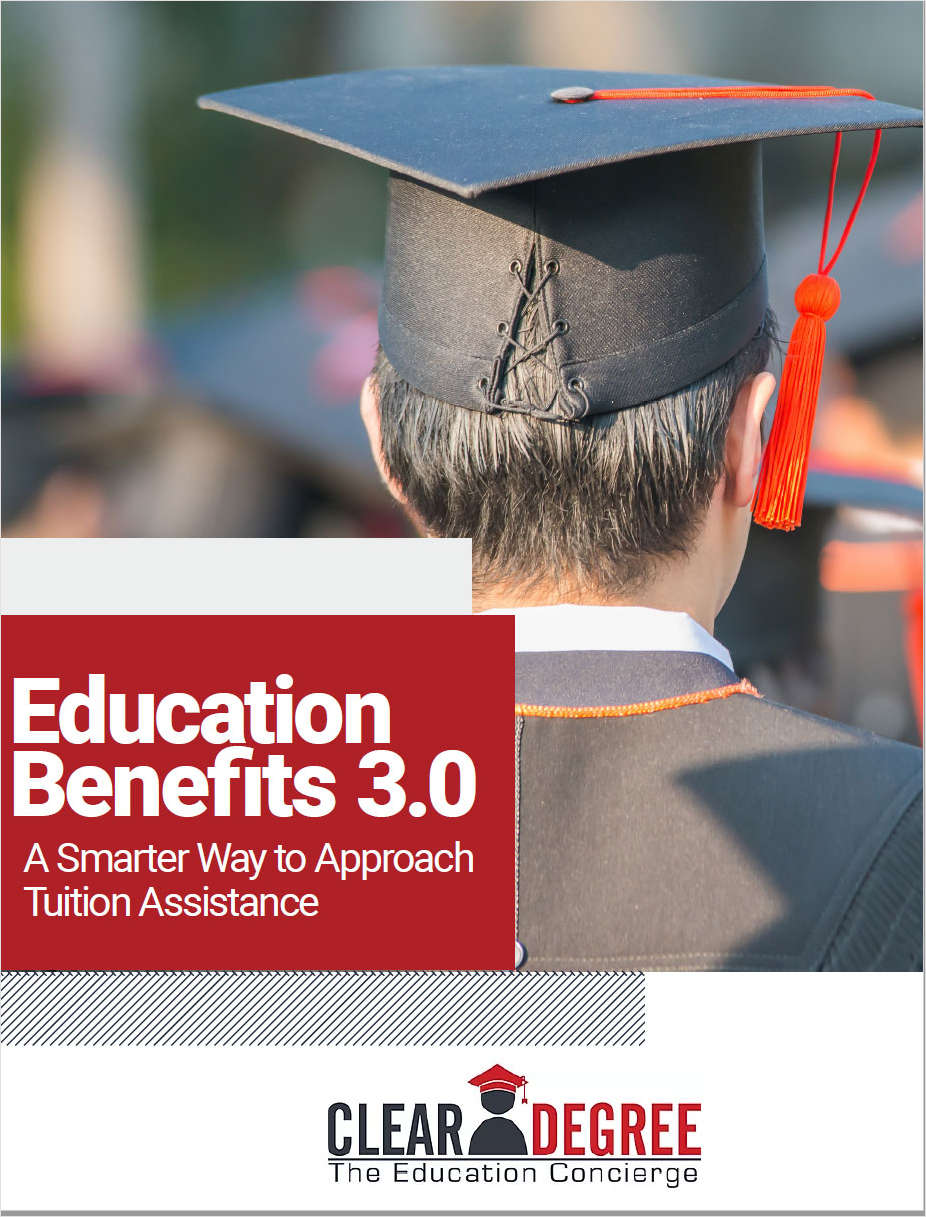 Education Benefits 3.0: A Smarter Way to Approach Tuition Assistance