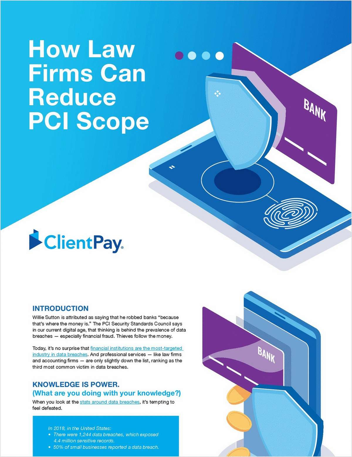 How Law Firms Can Reduce PCI Scope