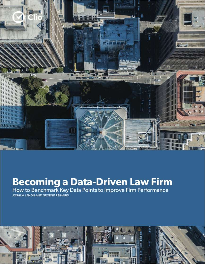 Becoming a Data-Driven Law Firm