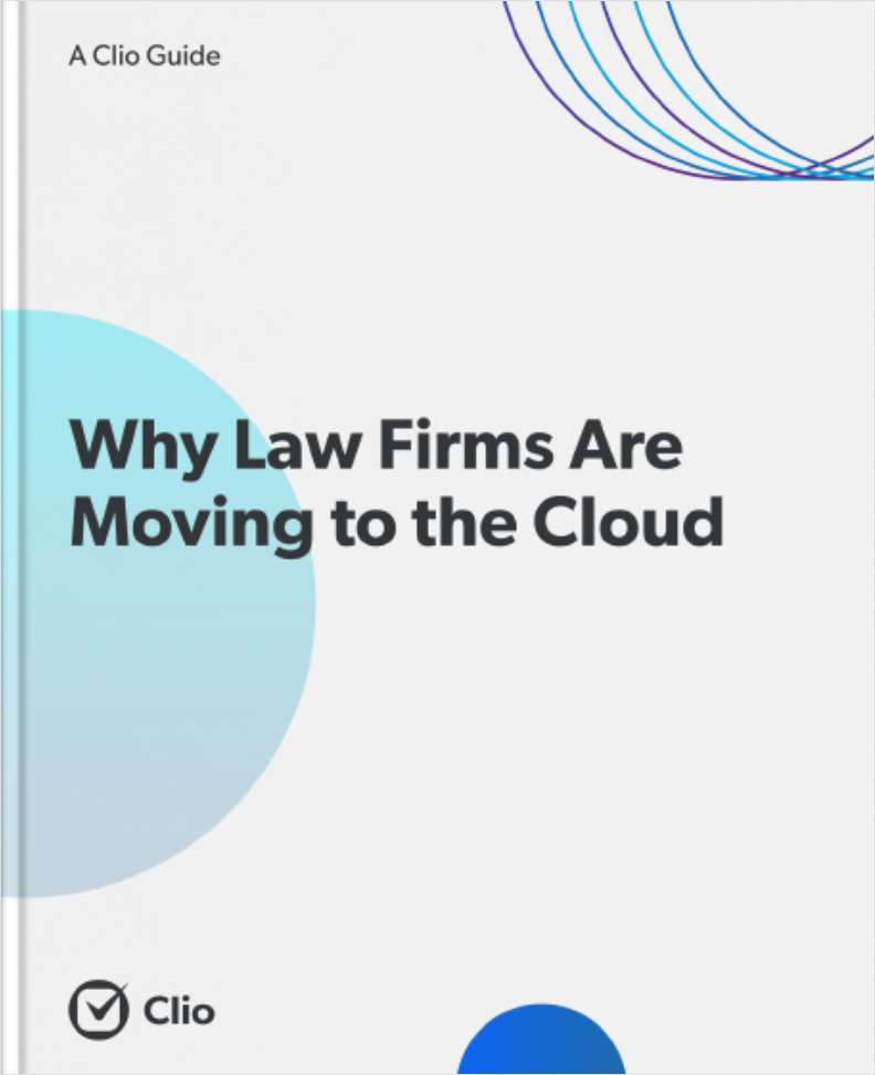 Why Law Firms Are Moving to the Cloud