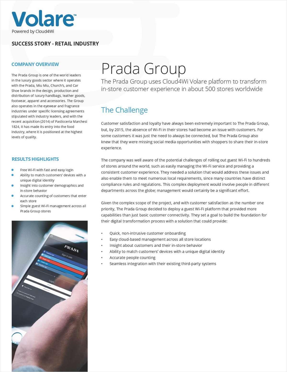Revolutionizing In-Store Customer Experience: Prada Group Success Story