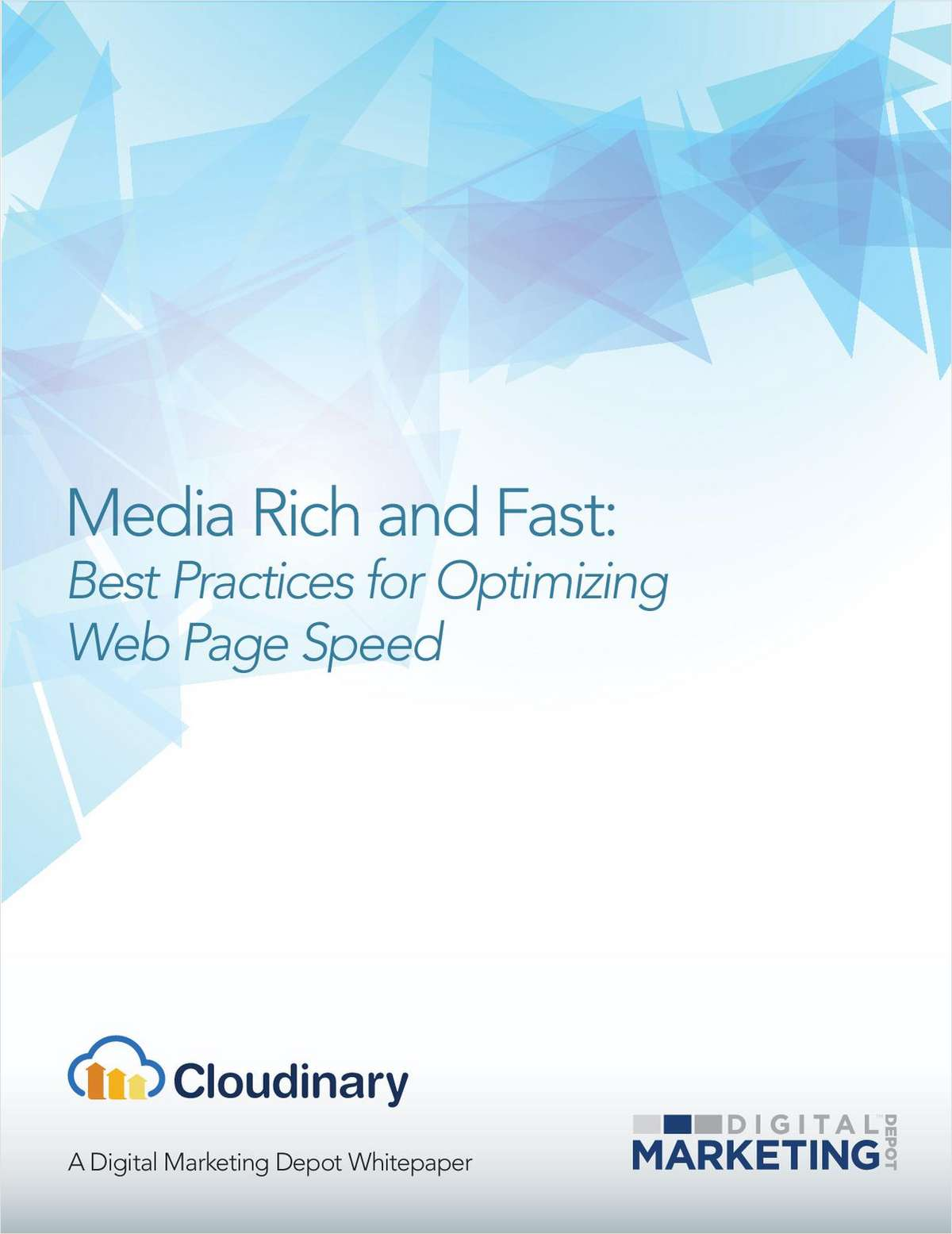 Media Rich and Fast: Best Practices for Optimizing Web Page Speed