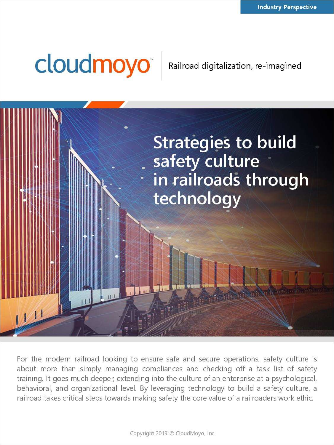 Strategies to Build Safety Culture in Railroads Through Technology