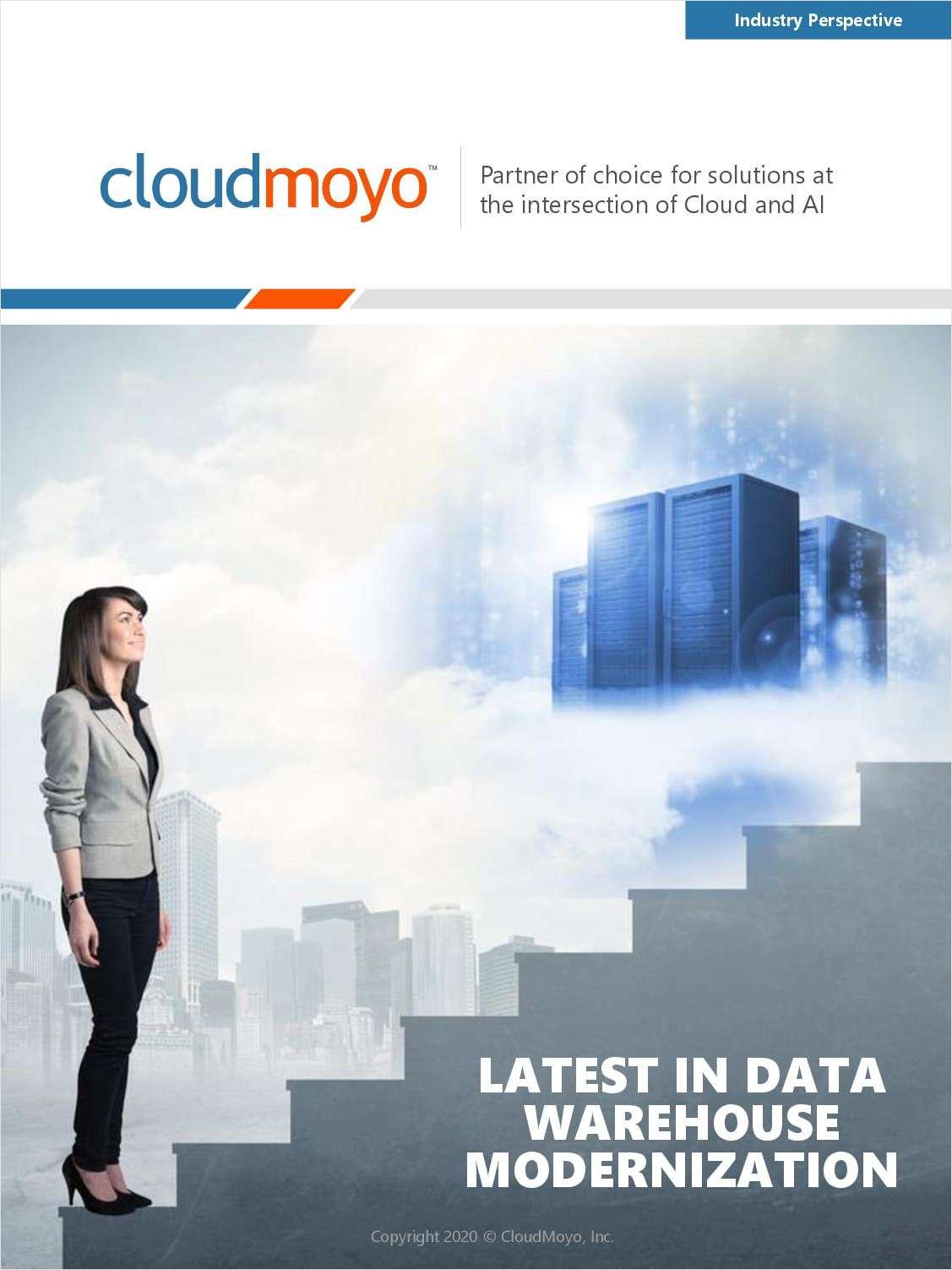 Latest in Data Warehouse Modernization