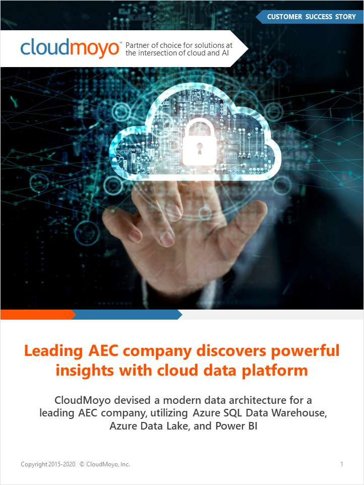 Leading AEC Company Discovers Powerful Insights With Cloud Data Platform