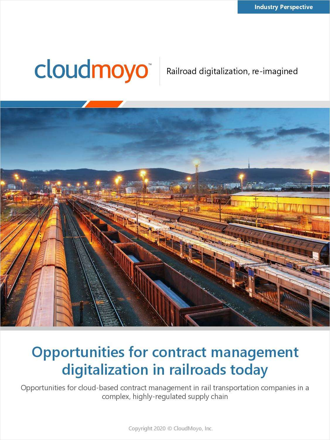 Opportunities for Contract Management Digitalization in Railroads Today