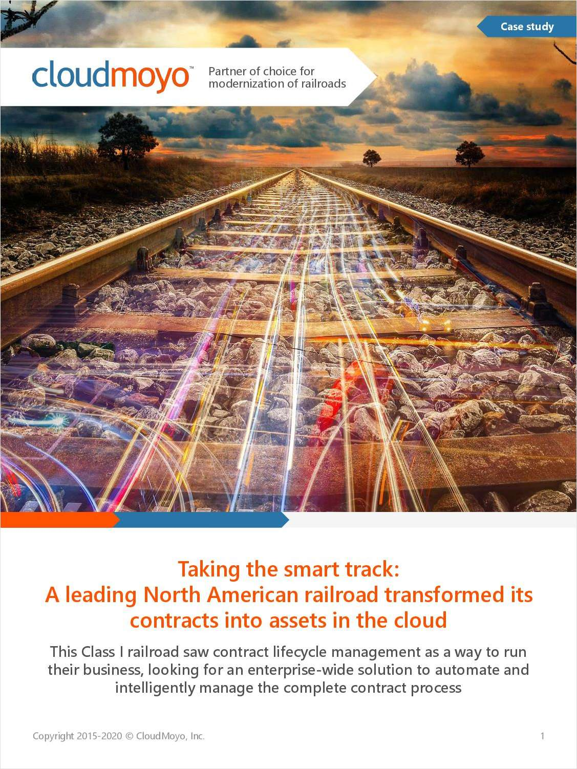 Taking the Smart Track: A Leading North American Railroad Transformed Its Contracts Into Assets in the Cloud