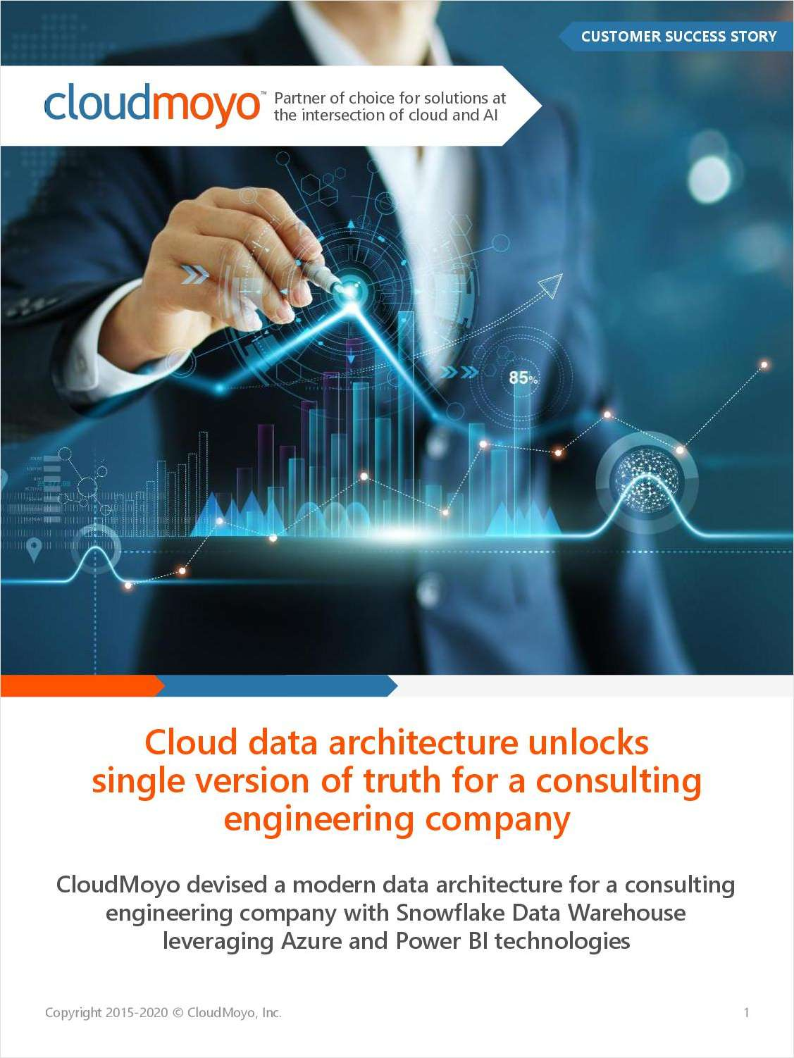 Cloud data architecture unlocks a single version of truth for a consulting engineering company