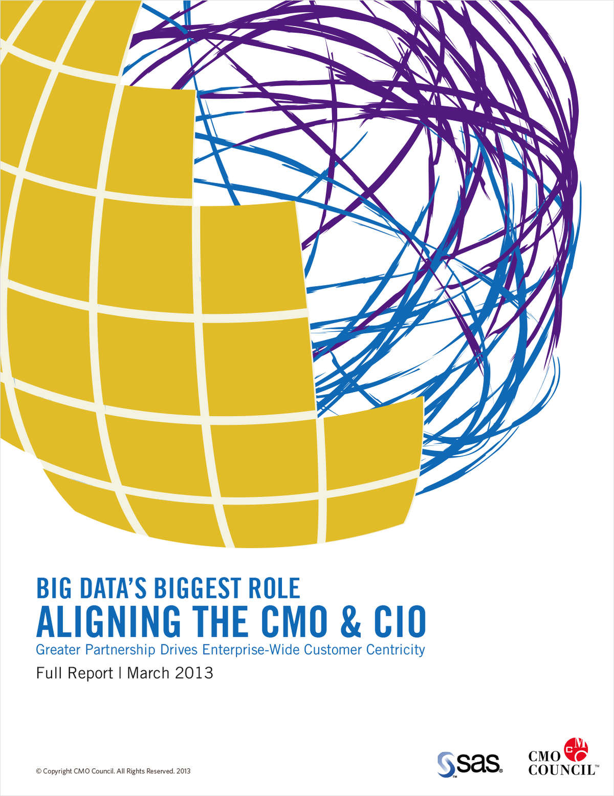 Big Data's Biggest Role: Aligning the CMO & CIO