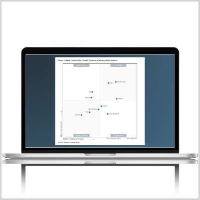 Gartner Report: Magic Quadrant for Contact Center as a Service