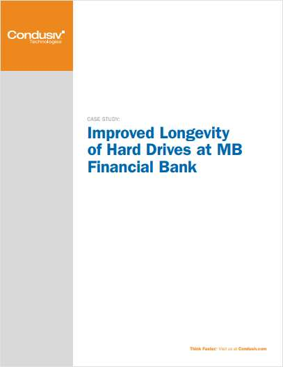 Improved Longevity of Hard Drives at MB Financial Bank
