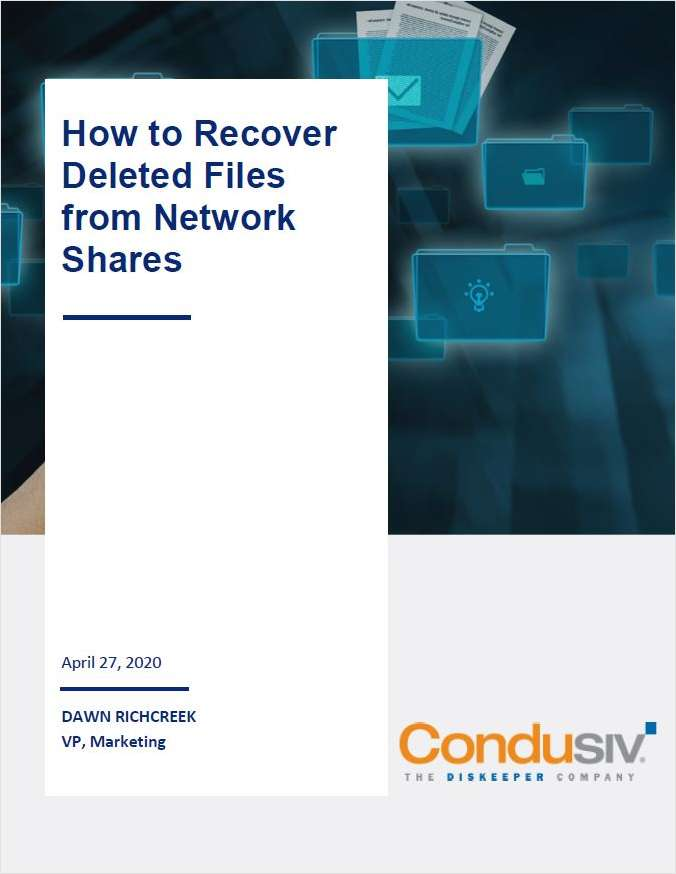 How to Recover Deleted Files from Network Shares