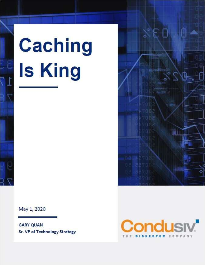 Caching Is King