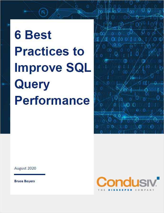 Six Best Practices to Improve SQL Query Performance