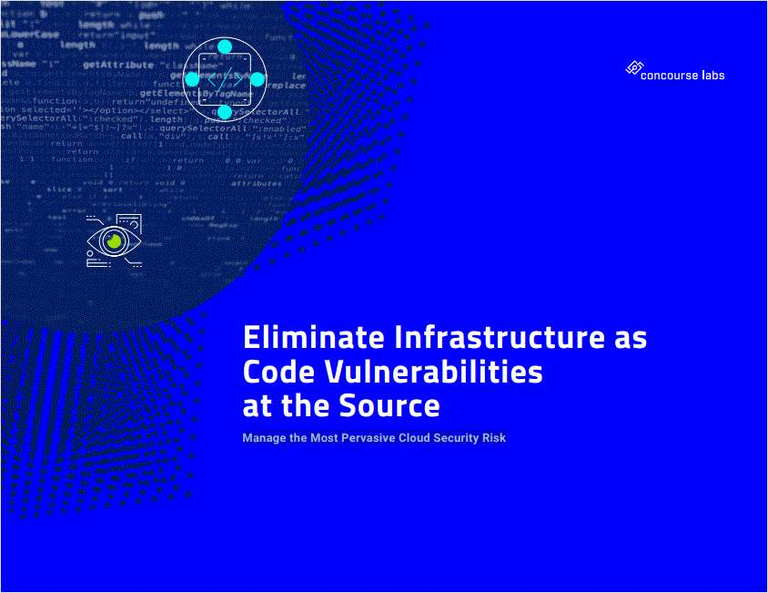 Eliminate Infrastructure as Code Vulnerabilities at the Source